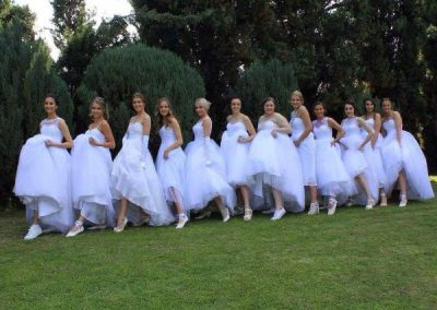 Debutantes - Kicking up their heels