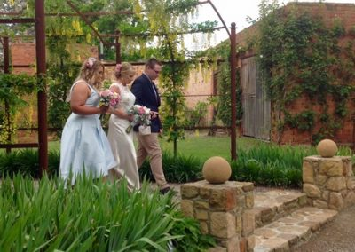 Denise and Paul - November wedding day